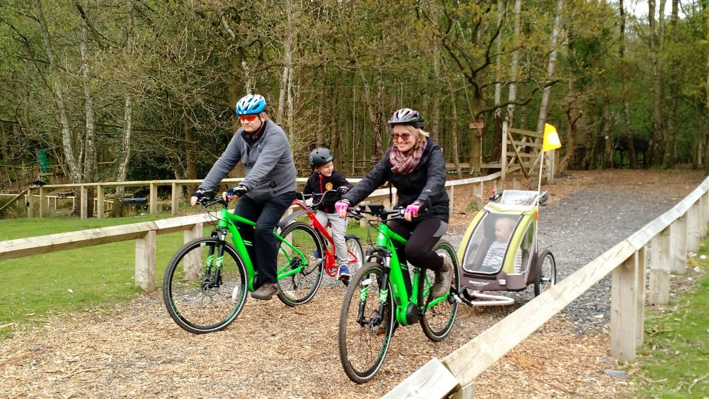 Family Cycle hire Northwich