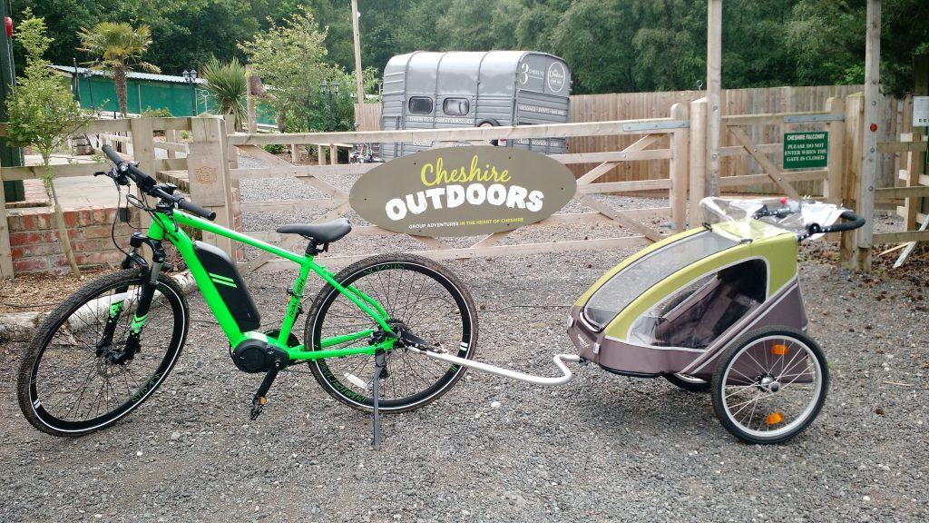 Bike Hire Baby trailer