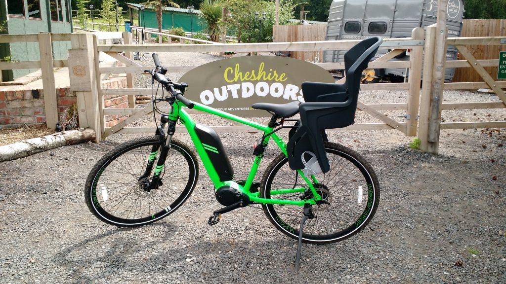 Bike hire baby seat